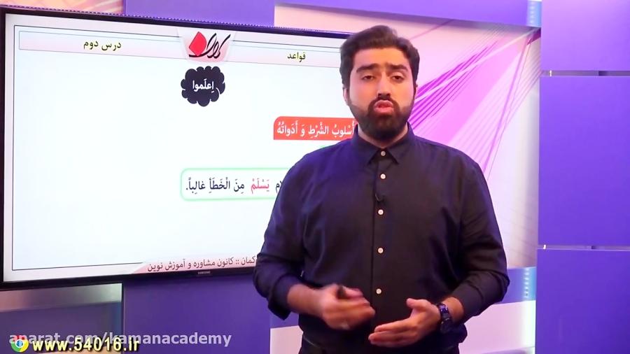 قواعد-درس-دوم-عربی-یازدهم