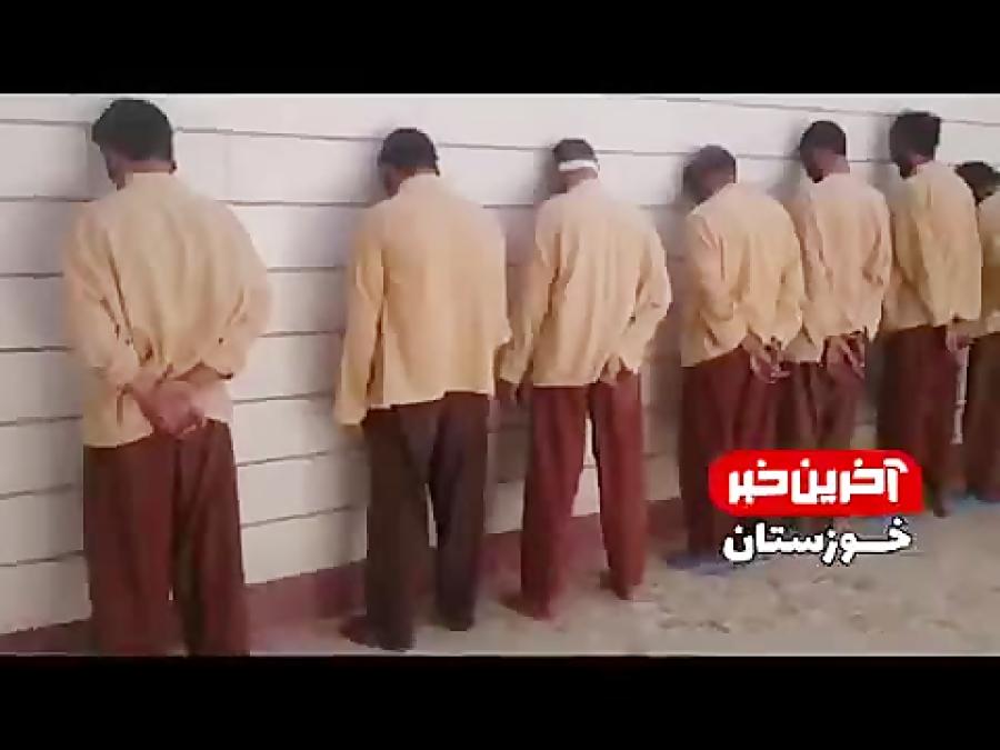 تصویر از دستگیری عملان حمله تروریستی اهواز