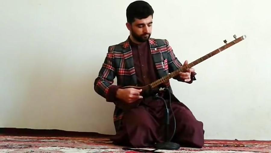 عقرب زلف کجت عبدالهادی توخی هنرجوی غیرحضوری سهتار نیما فریدونی هرات افغانستان