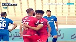 خلاصه بازی تراکتور 6-0 استقلال خوزستان (پوکر استوکس)