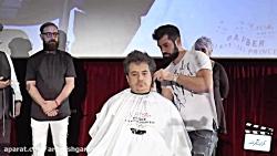 ثبت رکورد سریع ترین اصلاح موی سر در کتاب گینس