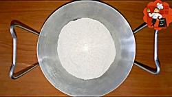 لذت آشپزی - طرز تهیه نان گیسو
