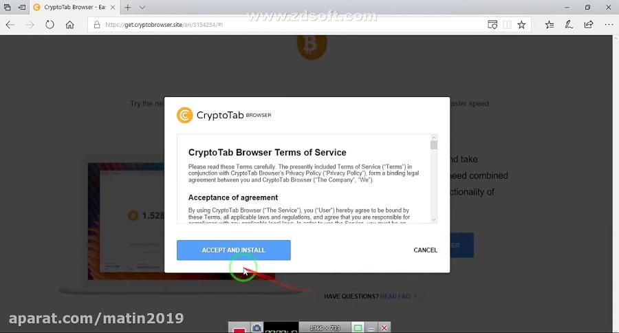 آموزش cryptotab
