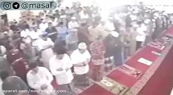 سونامی در اندونزی در یک مسجد