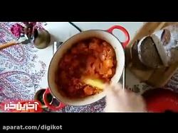 آشپزی -ماش پلو با ته دیگ مخصوص+شیربرنج+سوپ عدس قرمز