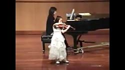 Jocelyn violin 8 years old