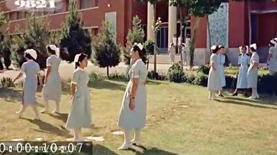 ویدیوی رنگی و قدیمی از اصفهان و تهران (سال 1335)