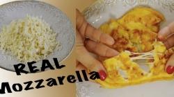 طرز تهیه پنیر پیتزا خانگی (پنیر موزارلا) در منزل