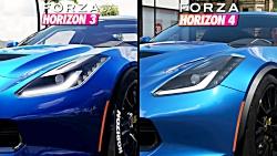 مقایسه گرافیکی Forza Horizon 4 و Forza Horizon 3
