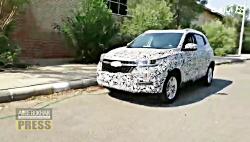 خودروی استتار شده ی جدیدی به ایران آمد!