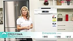 ماشین ظرفشویی سامسونگ DW60H6050FW