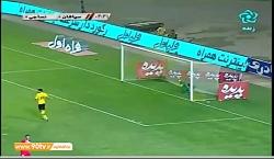 خلاصه بازی سپاهان و نسا...