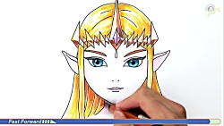 How to Draw Princess Zelda