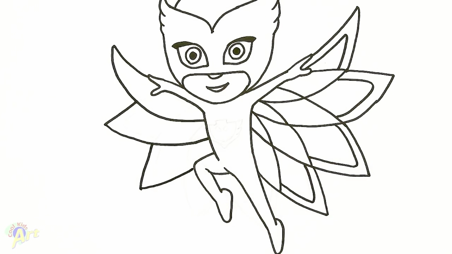 How To Draw Owlette Easy Learn How To Draw