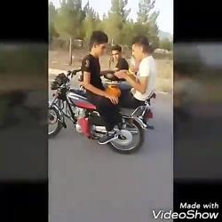 آشپزی رو موتورسیکلت