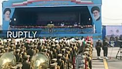 رژه نظامی ارتش ایران در...
