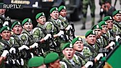 رژه ارتش مکزیک به مناسب...