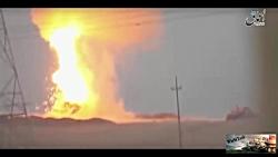 انفجار تانک های جنگی در...