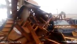 تصاویر اولیه از طوفان مایکل در فلوریدای آمریکا