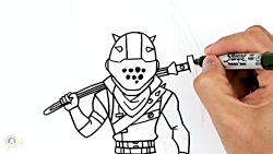 How to Draw Rust Lord | Fortnite