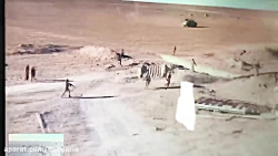 دوئل دیدنی تانک عراقی با خودروی انتحاری داعش