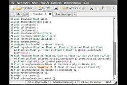 OpenGL (SDL,C++) tutorial 18 - sphere-plan...