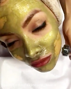 Magnetic gold mask