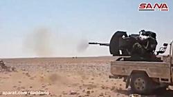 عملیات ارتش سوریه ضد داعش در صحرای سوریه 1