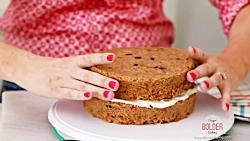 آموزش کیک هویج 3 لایه - آسان و خوشمزه