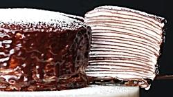 طرز تهیه کرپ کیک شکلاتی - آسان و خوشمزه