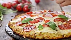 طرز تهیه پیتزا با خمیر سیب زمینی - آسان،سریع و خوشمزه