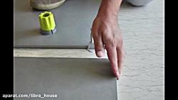 سیستم نوین نصب سرامیک و سنگ محصول پروفیلیتک ایتالیا