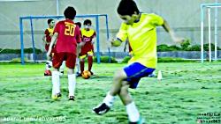 تمرین در مدرسه فوتبال ی...