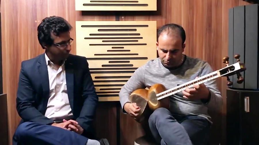 فیلم بداههنوازی و بداههخوانی در دستگاه شور و عشاق محمدرضا سام آواز و نیما فریدونی