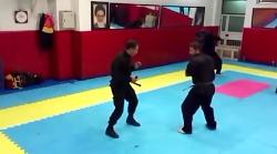 آموزش دفاع شخصی ورزن تو...