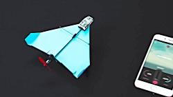 این هواپیمای کاغذی با گ...