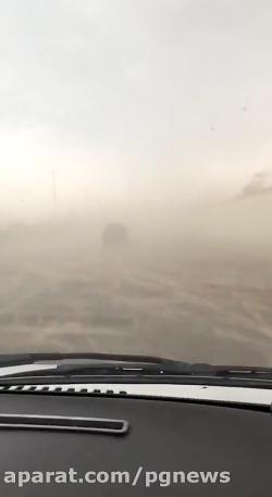طوفان امروز در بوشهر