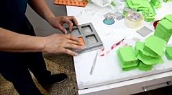 ویدیو کلیپ های Jewelry Mold Rubber