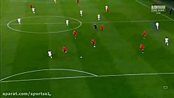 اسپانیا 2-3 انگلیس (گلها...
