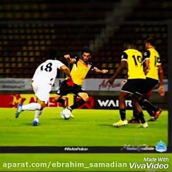 تست فوتبال لیگ تایلند......