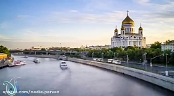 سفر به مسکو در یک دقیقه