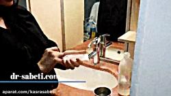 شستو شوی بینی بعد از عمل-شستن بینی با سرم شستن بینی بعداز عمل-دکتر ثابتی