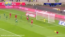گل اول ایران به بولیوی ( علیرضا جهانبخش)