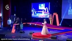 دریافت جایزه نوید محمد ...