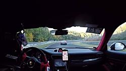 پورشه 911 GT2 RS در برابر نیسان GTR در نوربرگ رینگ
