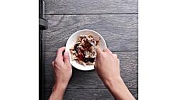 7 ایده غذا آسان و سریع در مایکروفر+ روش تمیز کردن مایکروفر