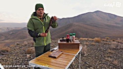 آشپزی در طبیعت16 با رضا ...