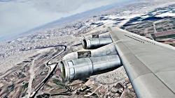 پرواز بوئینگ 707 ارتش از ...