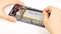 آموزش تعویض تاچ ال سی دی Sony Xperia XA Ultra