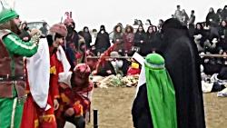 مراسم تعزیه خوانی روزعاشورای ۹۷مسجدجامع  روستای آتشگاه